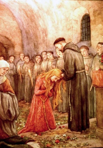 13 Clare Becomes Franciscan