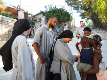 Franciscans with Poor
