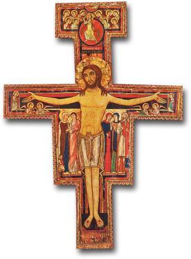 San Damiano Cross - detailed